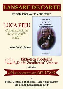 Luca Pitu - Lansare de carte - 3