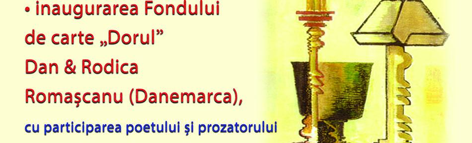 """Inaugurarea Fondului de carte """"Dorul"""" Dan & Rodica Romaşcanu"""