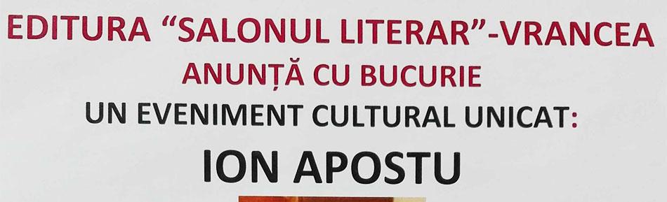 Lansare de carte la Biblioteca Judeţeană Vrancea