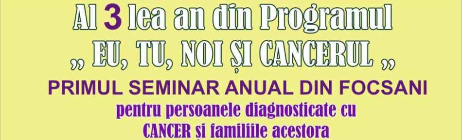 Seminar pentru persoanele diagnosticate cu Cancer şi familiile acestora, derulat la Biblioteca Judeţeană