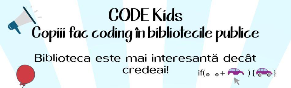 Înscrierile la Cluburile de Coding ale Bibliotecii Judeţene Vrancea