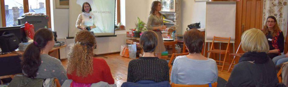 Al doilea Seminar adresat persoanelor diagnosticate cu Cancer şi familiilor acestora, derulat la Biblioteca Judeţeană