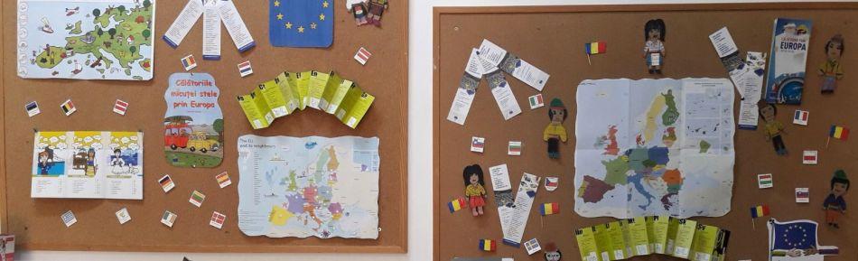 ZIUA EUROPEI – Donații de la Biroul Parlamentului European în România