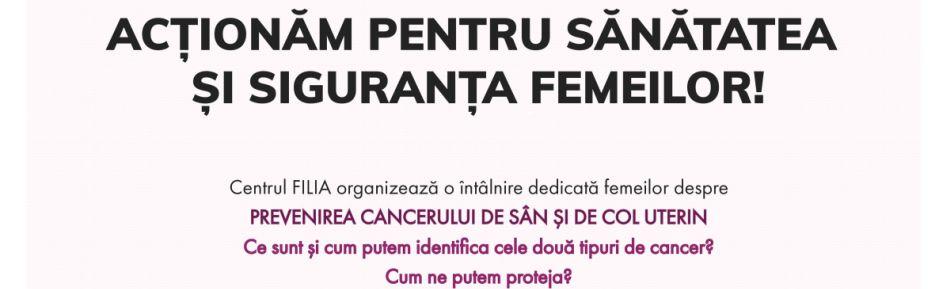Seminar dedicat prevenirii cancerului de sân şi de col uterin, organizat la Biblioteca Județeană